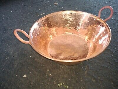 Mexican Pure Copper Pot for Carnitas Cazo. (11 x 5 in)