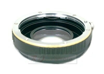 Canon EOS focal reducer speed booster adapter Canon EOS-M M6 M3 M5 M50 M10 M100