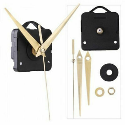 Quartz Battery Wall Clock Movement Mechanism DIY Repair Part Kit 10 Spindle M7F9