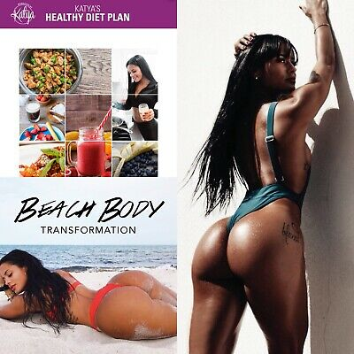 Katya Henry Guides || Healthy Diet + Advanced Home Booty + Gym Beach Body