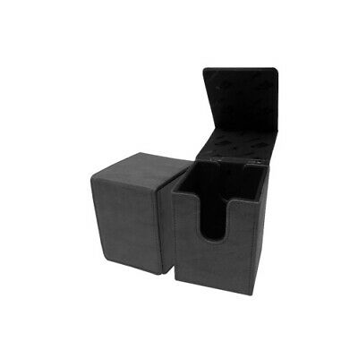 Ultra Pro 85768 UP - Suede Collection Alcove Flip Deck Box - Jet
