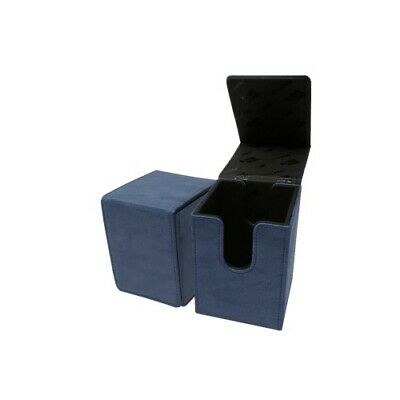 Ultra Pro 85769 UP - Suede Collection Alcove Flip Deck Box - Sapphire