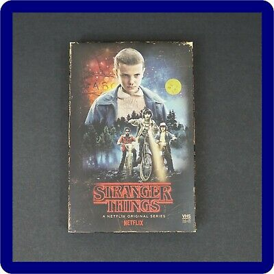Stranger Things Season 1 Blu Ray + DVD Target Exclusive Collector's Ed. + POSTER