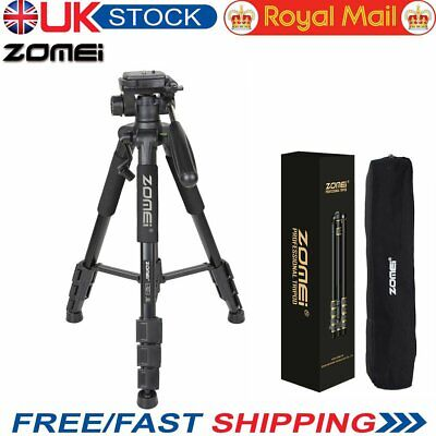 Zomei Q111 Professional Heavy Duty Aluminium Tripod&Pan Head for DSLR Camera UK