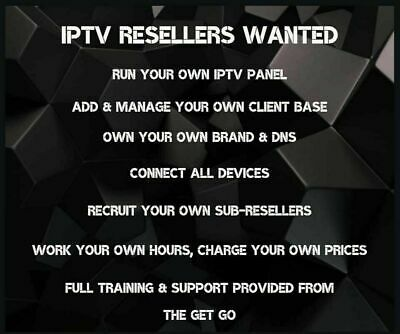 IPTV RESELLER PANEL ** Special offer Sign up ** - 80 CREDITS -