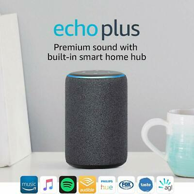 All-new Echo Plus (2nd gen) – Premium sound with a built-in smart home hub - Cha