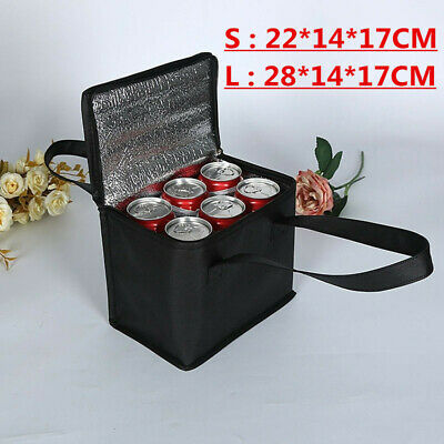 1Pcs Nonwoven Can Cooler Bag Ice Pack Food Packing Container Dry Ice Insulated