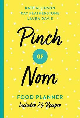 Pinch Of Nom Food Planner By Kate Allinson New Paperback Book Recipe Diet Food