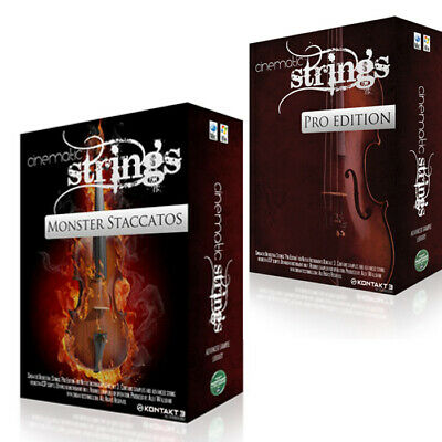 Strings Cinematic Bundles Kontakt Libraries Collection 34Gb