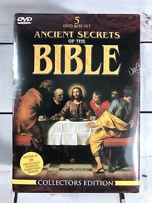 Ancient Secrets of the Bible Collectors Edition 5 DVD Box Set 2000 New Sealed