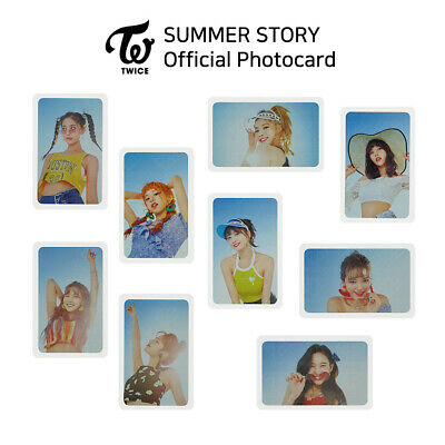 TWICE - POP UP STORE 'Summer Night' Official Photocard