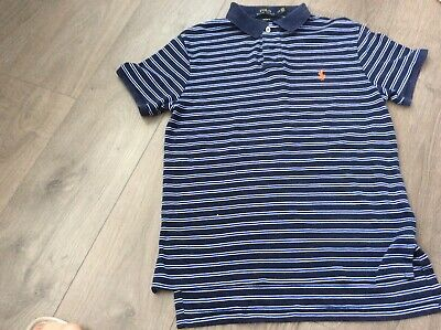 Mens Youth Genuine  Polo By Ralph Lauren Shirt Size Small