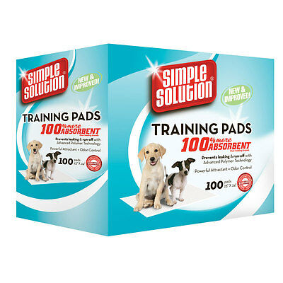 Simple Solution Training Pads 100