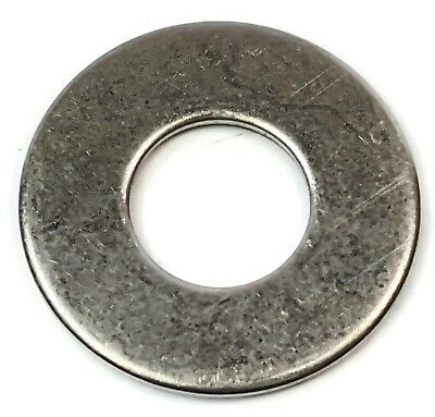 """Military Standard Flat Washers 18-8 Stainless Steel MS Washer - Sizes #0 - 1"""""""