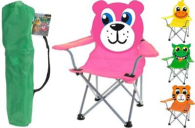 Lovely Children's Camping Chair Kid's Foldable Garden Chair Beach Fishing Picnic