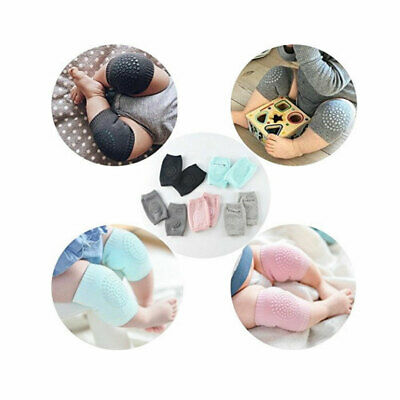 5 Pairs Set Baby Safety Crawling Elbow Knee Pads Cushion Anti-Slip Protector US