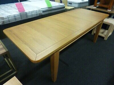 New Chunky French Solid Oak Large Extending Dining Table *Department Store*
