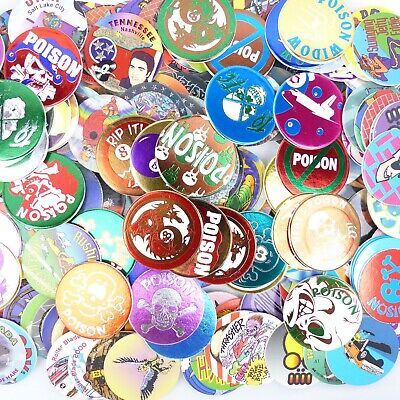 POGS MONSTERS? CAPS The Game Complete Set Of All 77 Awesome