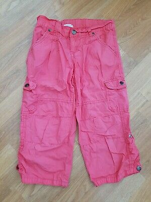 Girls Pumpkin Patch cropped trousers, Age 12