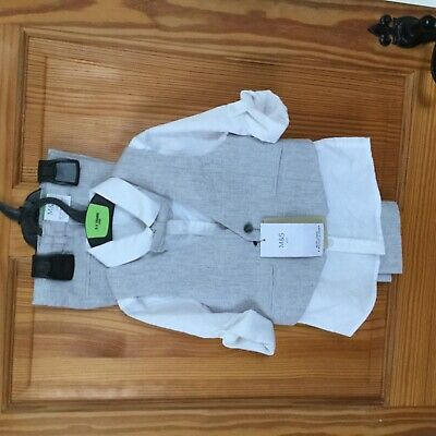Kids 4 piece outfit-M&S Collection age 2-3 Male