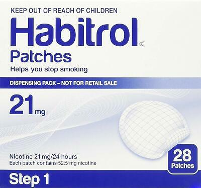 Habitrol 21 mg Nicotine Patches - Step 1 - 28 Patches