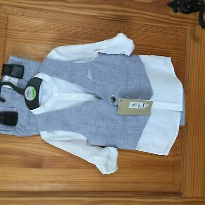 Kids 3piece outfit-M&S Collection age 4-5 Male