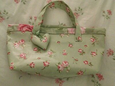 Knitting/Craft Laptop Oilcloth Bag