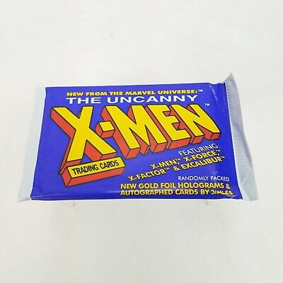 1992 Impel Marvel Universe X-Men The Uncanny Jim Lee Trading Card Pack! CA