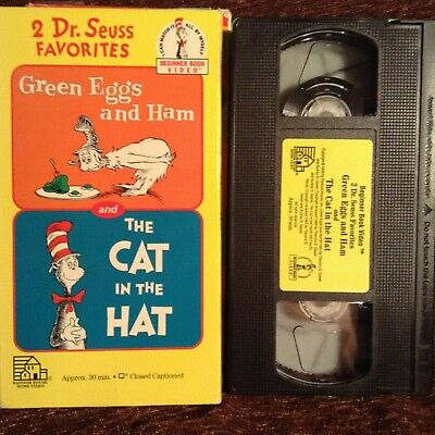 2 Dr Seuss Favorites The Cat In The Hat Green Eggs And Ham