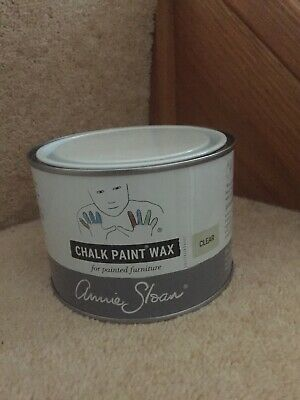 Annie Sloan CLEAR WAX - large 500ml tin of Clear Wax to seal chalk painted items