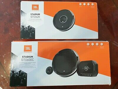 "JBL Stadium GTO600C + GTO620 Stadium Series 6-1/2"" Car 2way Speakers Package"