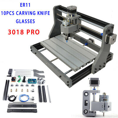 DIY CNC ROUTER Kits 2418 GRBL Control 3 Axis Carving Milling