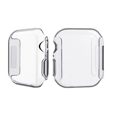 Compatible with Apple Watch Case,Soft TPU Full Protective Cover Bumper UltrL7A4
