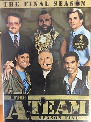 THE A TEAM - Season 5 4 x DVD Set Excellent Cond! Complete Fifth Series Five