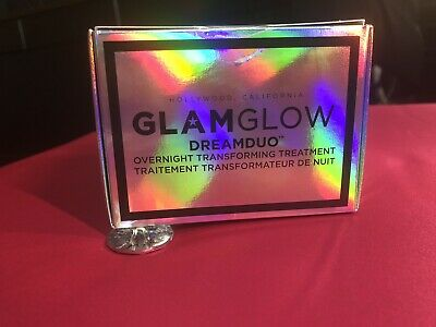 GlamGlow Dreamduo Overnight Transforming Treatment NEW IN BOX