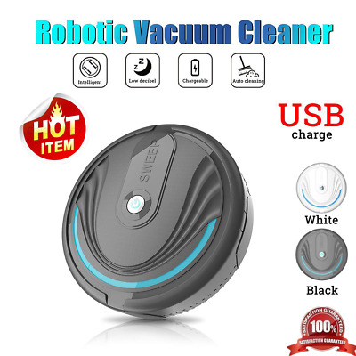 Automatic Smart Robot Vacuum Floor Cleaner Sweeping Suction Robotic Rechargeable