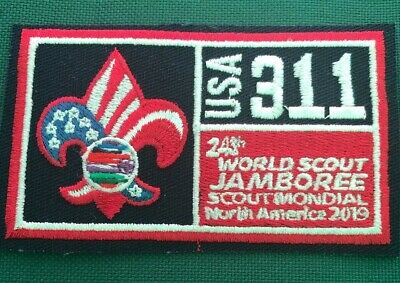 24th World Boy Scout Jamboree 2019 Troop 311 Patch Badge USA Contingent WSJ BSA