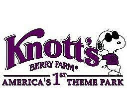 (2) Two Single Day E-Tickets to Knotts Berry Farm Free / Fast Shipping