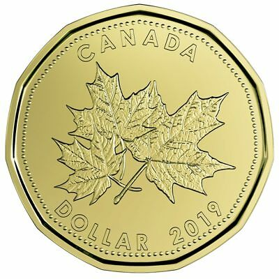 2019 Canada Uncirculated O Canada 5 coin set with special loon dollar coin