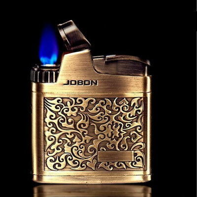 Butane Jet Torch Gas Refillable Smoking Cigar Cigarette Vintage Lighter 318