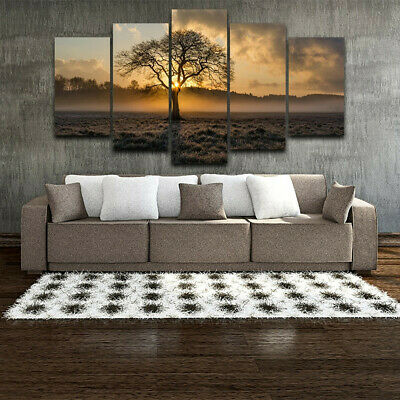 5Pcs/set Unframed Oil Painting Picture Abstract Art Canvas Print Home Wall