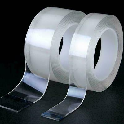 Magic Double-sided Tape Traceless Washable Adhesive Tape Nano Invisible Gel Bu