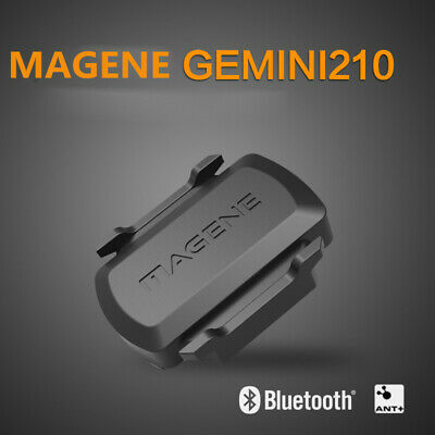 MAGENE Bike Speed Cadence Dual Sensor ANT+ Bluetooth for Garmin iGPSPORT Bryton