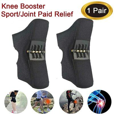 2nd Generation Power Knee Stabilizer Pads Rebound Spring Force Support Knee Pad