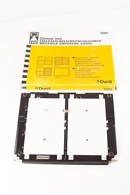 Durst Comask  Boxed, near Mint Condition  Multiple Printing Easel for 10x8 Paper