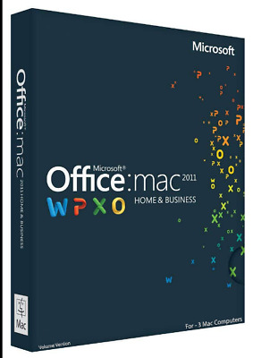 Microsoft Office Home and Business 2011 for Mac   Lifetime   Multi Languages