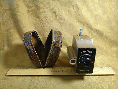 Vintage 35mm Box Camera Rapitake LaRose (Rare) - Free S&H USA