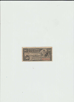 1886 UNC /> 130 years old 5 centavos L.1883 Paraguay P-S141