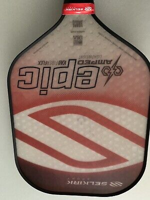 SELKIRK AMPED X5 Epic Pickleball Paddle Midweight Fiber Flex Tech