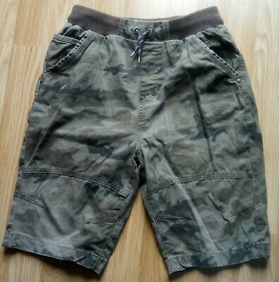 Boys cotton green Shorts with pockets Size 13-14 years H 158-164cm